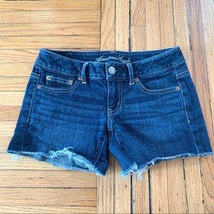 American Eagle Stretch Denim Shorts, Size 2